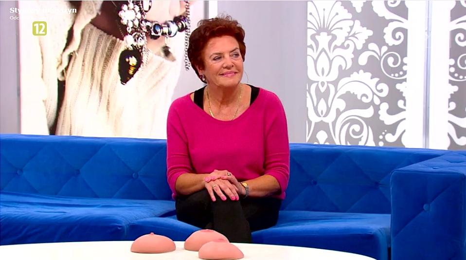 Dr Iwona Szaferska w TVN Style opowiada o samobadaniu piersi